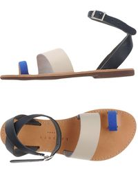 Isapera - Toe Post Sandal - Lyst