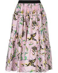 Fausto Puglisi - 3/4 Length Skirt - Lyst