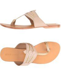 Star Mela - Toe Strap Sandals - Lyst