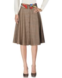 Ultrachic - 3/4 Length Skirts - Lyst