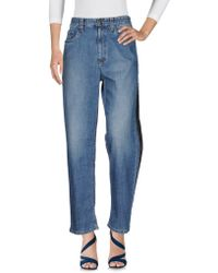 Brunello Cucinelli - Denim Trousers - Lyst