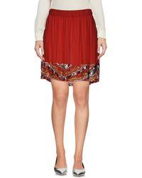 Manila Grace - Mini Skirt - Lyst
