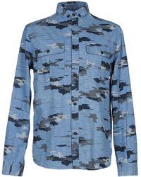 ELEVEN PARIS - Denim Shirt - Lyst