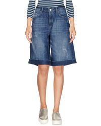 Relish | Denim Bermudas | Lyst