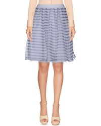 RED Valentino - Knee Length Skirts - Lyst