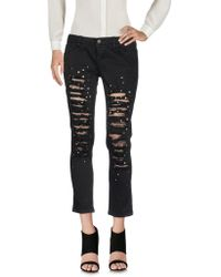 Eco - 3/4-length Trousers - Lyst