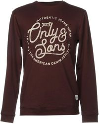 Only & Sons - Sweatshirt - Lyst