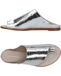 INTROPIA - Toe Strap Sandal - Lyst