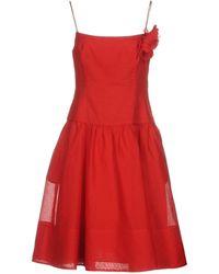 Ralph Lauren Black Label - Knee-length Dress - Lyst
