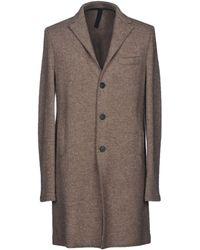 Harris Wharf London - Overcoat - Lyst