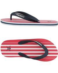 Hackett - Toe Strap Sandals - Lyst