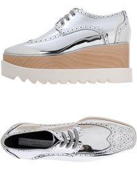 Stella McCartney - Chaussures à lacets - Lyst