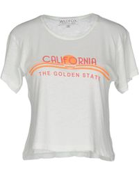Wildfox   T-shirt   Lyst