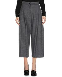 Erika Cavallini Semi Couture - 3/4-length Trousers - Lyst