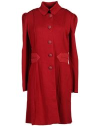 Emporio Armani - Overcoat - Lyst