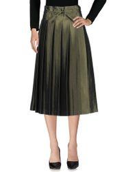 Sara Lanzi - 3/4 Length Skirts - Lyst