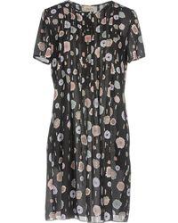 Armani - Short Dress - Lyst