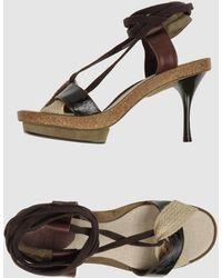 INTROPIA - Platform Sandals - Lyst