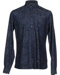 AT.P.CO - Denim Shirt - Lyst