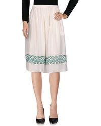 Vanessa Bruno - 3/4 Length Skirt - Lyst