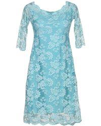 Balensi - Short Dress - Lyst