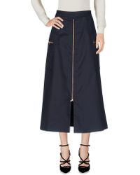 OSMAN - 3/4 Length Skirt - Lyst