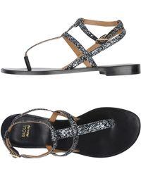 Raoul - Toe Strap Sandals - Lyst