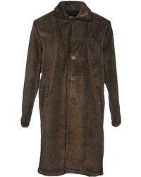 Stussy - Overcoat - Lyst