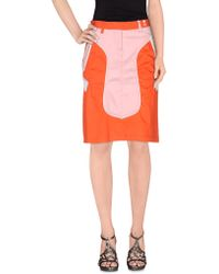 Gsus Sindustries - Knee Length Skirt - Lyst