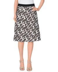 Erika Cavallini Semi Couture - Knee Length Skirt - Lyst