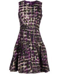 Oscar de la Renta - Short Dress - Lyst