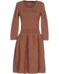 Soallure - Short Dress - Lyst