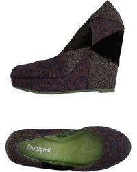 Desigual - Court Shoes - Lyst