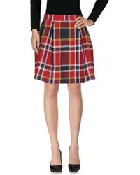 83cbaed22 Vivienne Westwood Red Label - Knee Length Skirt - Lyst