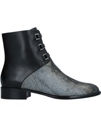 Emporio Armani - Ankle Boots - Lyst