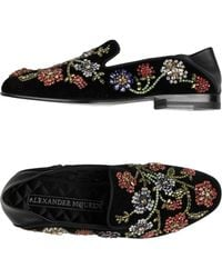 cb4e984a806 Lyst - Women s Alexander McQueen Loafers and moccasins On Sale