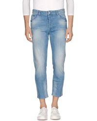 Low Brand - Denim Pants - Lyst