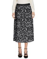Roberto Collina - Printed Pleated Skirt - Lyst