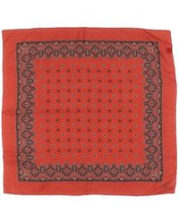 Canali - Square Scarf - Lyst