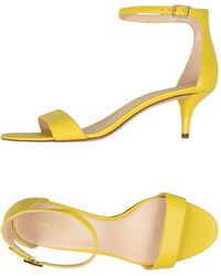 Nine West - Leisa Leather Open Toe Casual Ankle Strap - Lyst