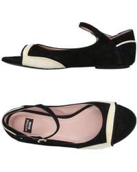 Boutique Moschino - Ballet Flats - Lyst