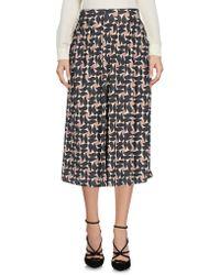 Maliparmi - 3/4 Length Skirt - Lyst