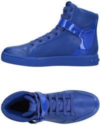 Balmain - Sneakers abotinadas - Lyst