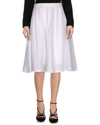 YMC - Knee Length Skirt - Lyst
