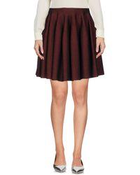 Alaïa - Mini Skirt - Lyst