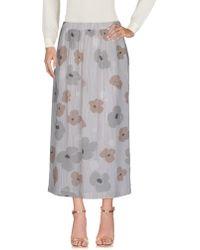 ROSSO35 - 3/4 Length Skirt - Lyst