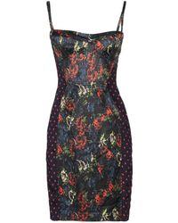 Paul Smith Black Label - Short Dress - Lyst