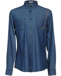 Bikkembergs - Denim Shirt - Lyst