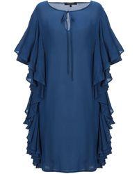 Fisico - Short Dress - Lyst