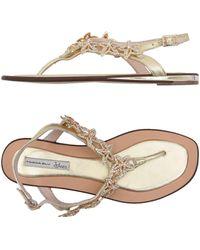 Tosca Blu - Toe Post Sandal - Lyst